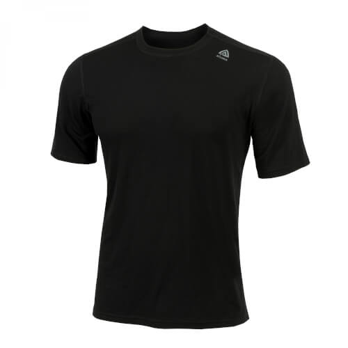 Aclima Lightwool T-Shirt Classic Man Jet Black