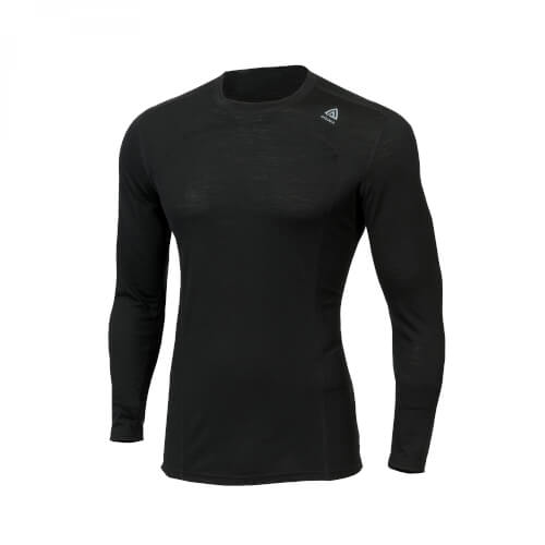 Aclima Lightwool Crewneck Man Jet Black