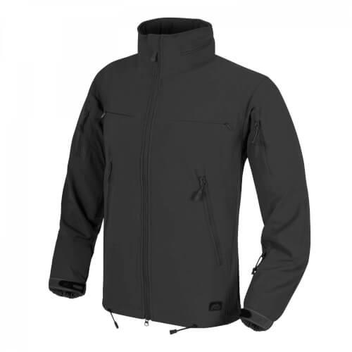 Helikon-Tex Cougar QSA + HID Jacket - Soft Shell Windblocker black