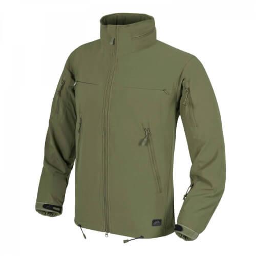 Helikon-Tex Cougar QSA + HID Jacket - Soft Shell Windblocker olive green