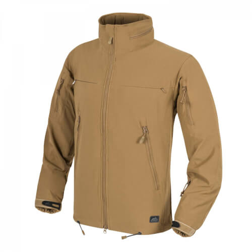 Helikon-Tex Cougar QSA + HID Jacket - Soft Shell Windblocker coyote
