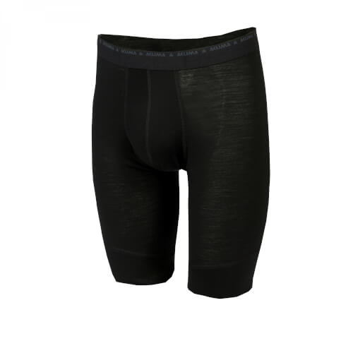 Aclima Lightwool Shorts long Man Jet Black