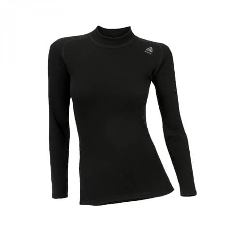 Aclima Warmwool Crewneck Women Jet Black