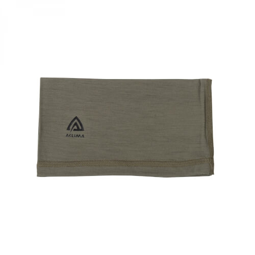 Aclima Lightwool Headover Unisex Ranger Green Onesize