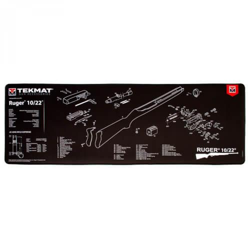 TEKMAT Ruger 10/22 Ultra Premium Waffenreinigungsmatte 15x44 Zoll