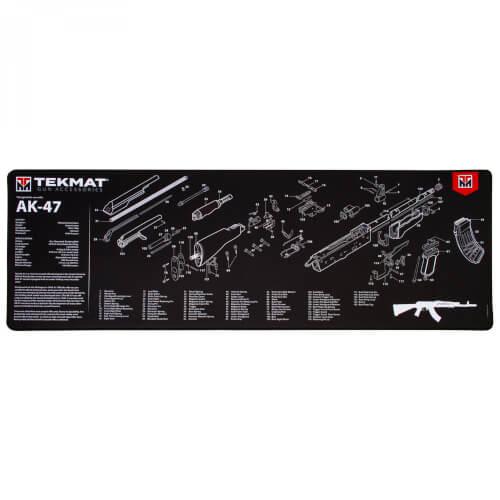 TEKMAT AK-47 Ultra Premium Waffenreinigungsmatte 15x44 Zoll