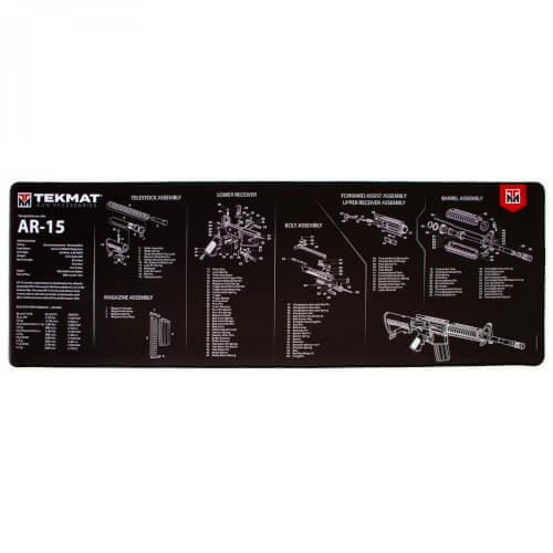 TEKMAT AR-15 Ultra Premium Waffenreinigungsmatte 15x44 Zoll