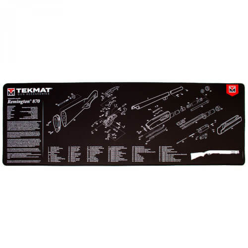 TEKMAT Remington 870 Ultra Premium Waffenreinigungsmatte 15x44 Zoll