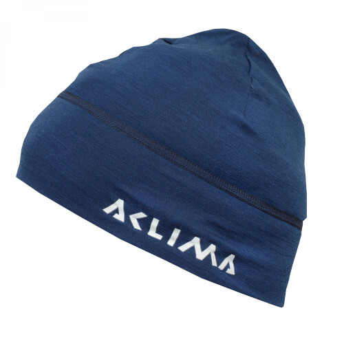 Aclima Lightwool Beanie Insignia Blue
