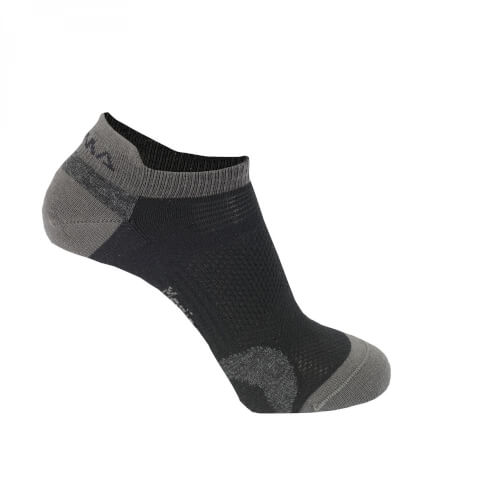 Aclima ANKLE Socks 2-Pack Irongate/Jet Black