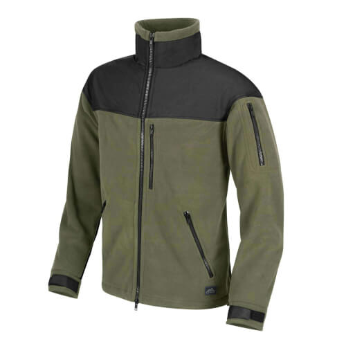 Helikon-Tex Classic Army Jacket - Fleece oliv/ schwarz