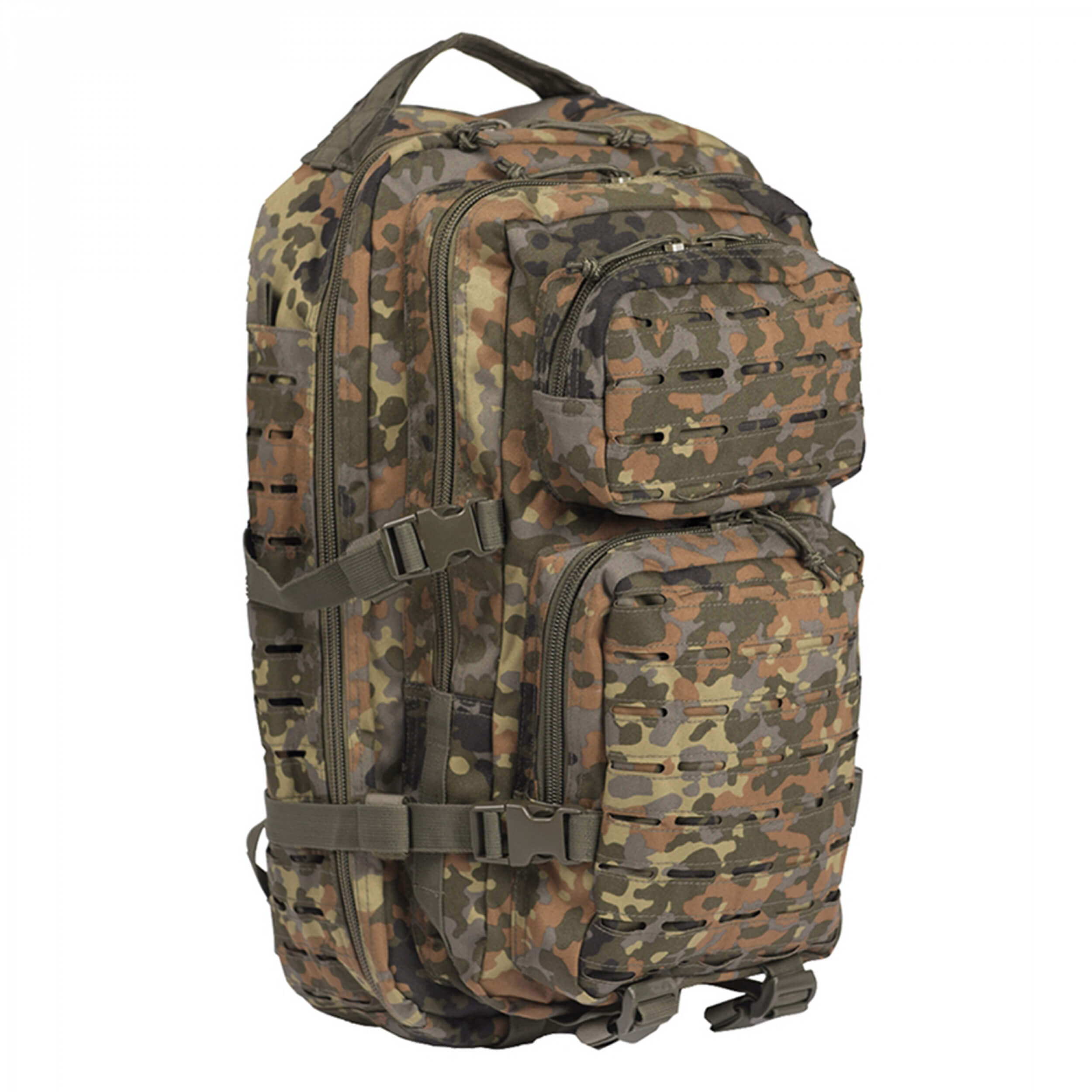 Mil-Tec US Assault Pack Laser Cut flecktarn