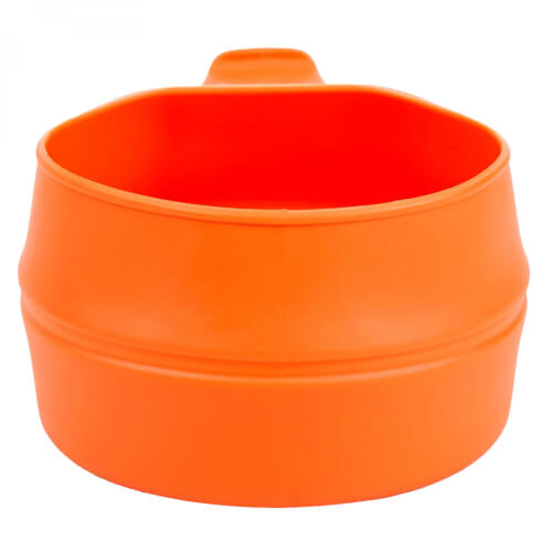 Wildo fold a cup BIG orange