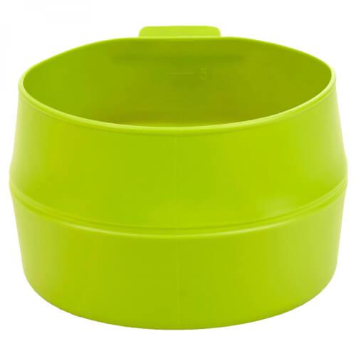 Wildo fold a cup BIG lime