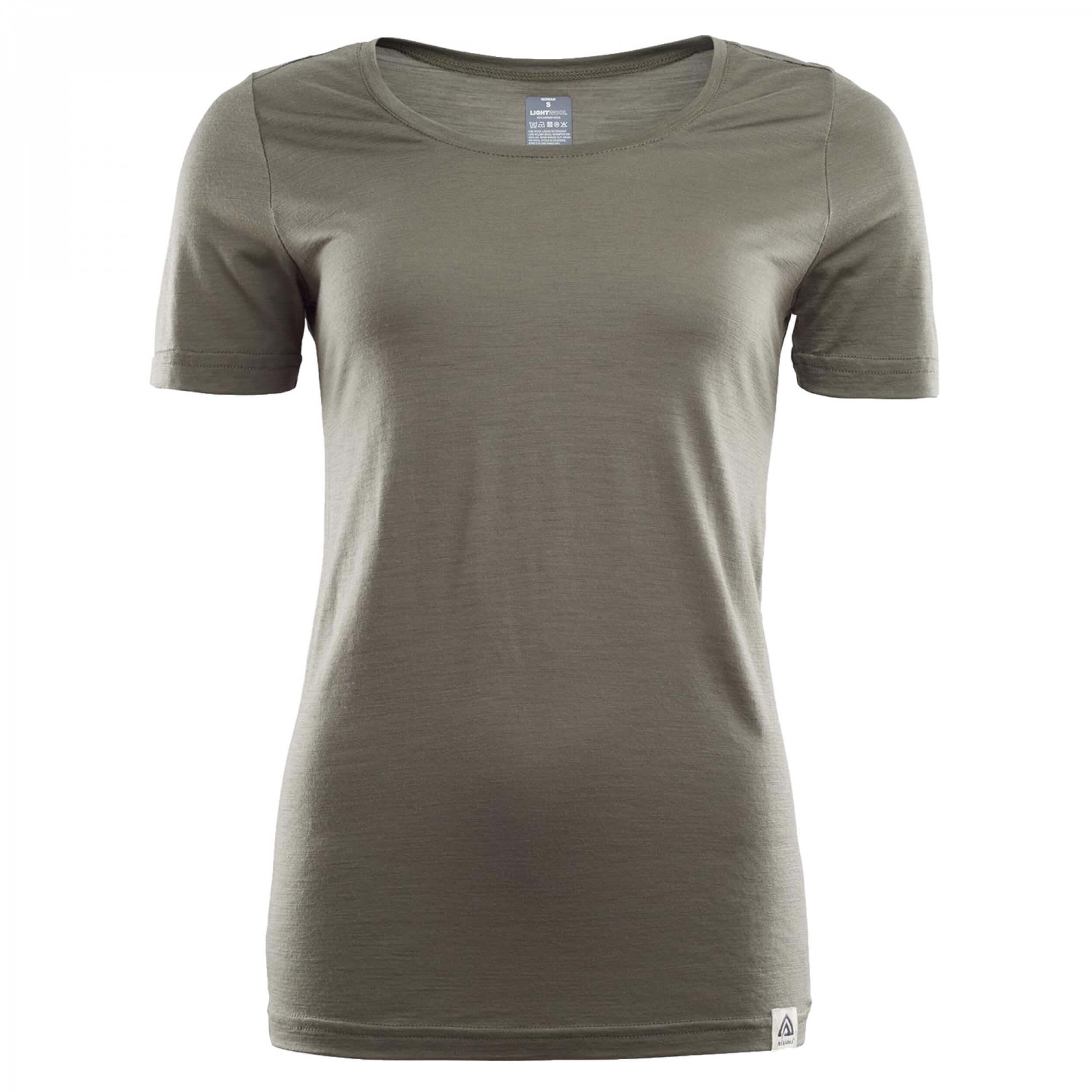 Aclima Lightwool T-Shirt Women Ranger Green