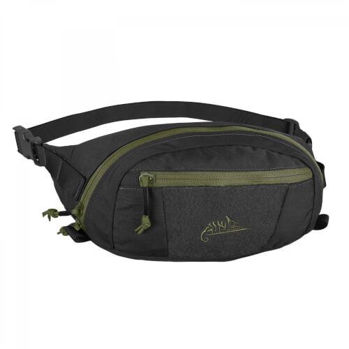 Helikon-Tex Bandicoot Waist Pack - Cordura Black/ Olive Green A