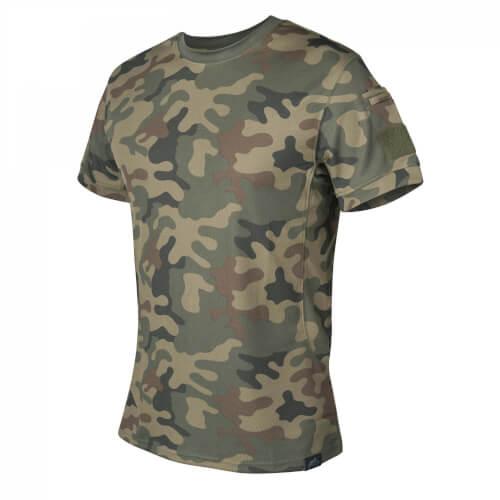 Helikon-Tex TACTICAL T-Shirt - TopCool PL Woodland