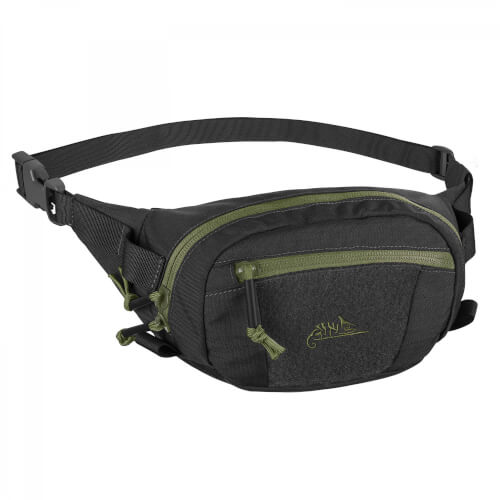 Helikon-Tex Possum Waist Pack - Cordura Black/ Olive Green