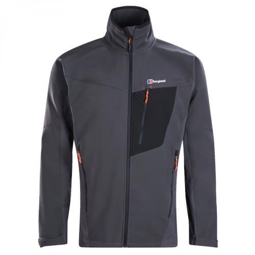 berghaus M Ghlas Softshell Jacket grey