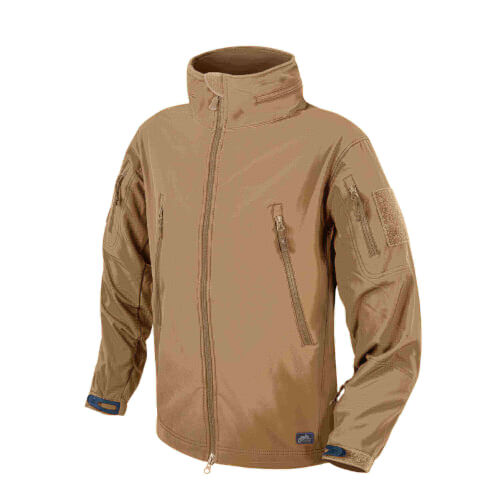 Helikon-Tex Gunfighter Jacke - Shark Skin Windblocker coyote
