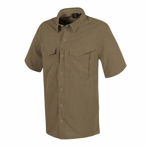 Helikon-Tex Defender Mk2 Ultralight Shirt Short Sleeve - Silver Mink