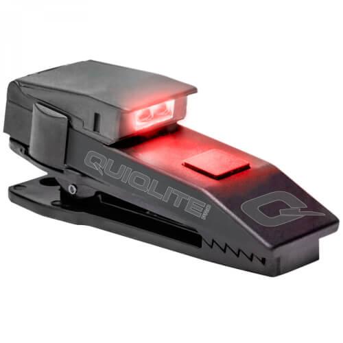QuiqLite Pro LED Rot Weiß, inkl. Diffusoraufsatz XFLARE