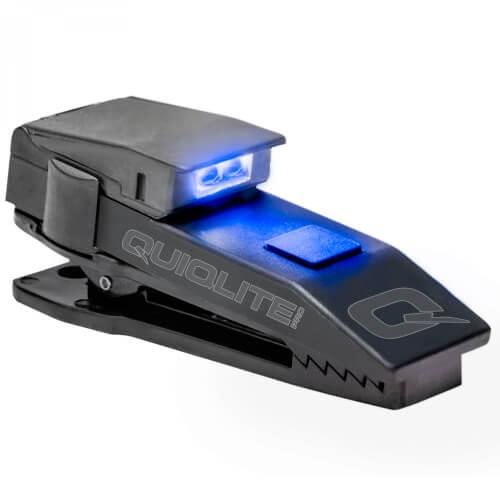 QuiqLite Pro LED Blau Weiß, inkl. Diffusoraufsatz XFLARE