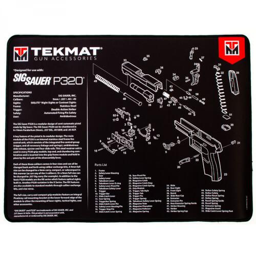 TEKMAT Sig Sauer P320 Ultra Premium Waffenreinigungsmatte 15x25 Zoll