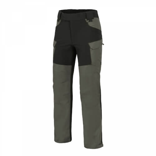 Helikon-Tex Hybrid Outback Pants - DuraCanvas taiga green/ black