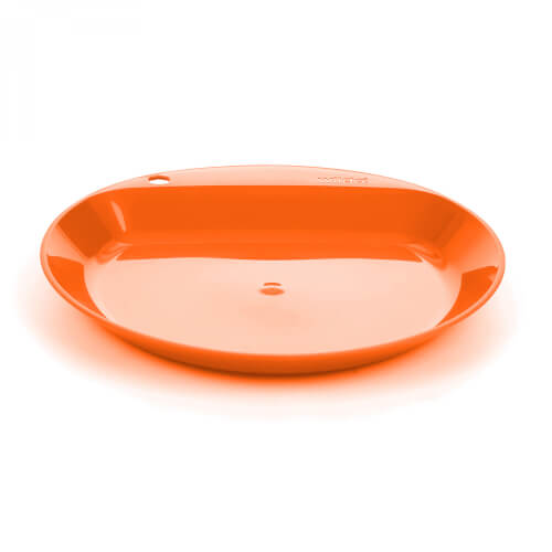 Wildo Camper Plate Flat Orange