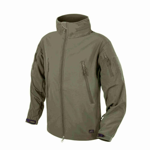 Helikon-Tex Gunfighter Jacke - Shark Skin Windblocker olive green