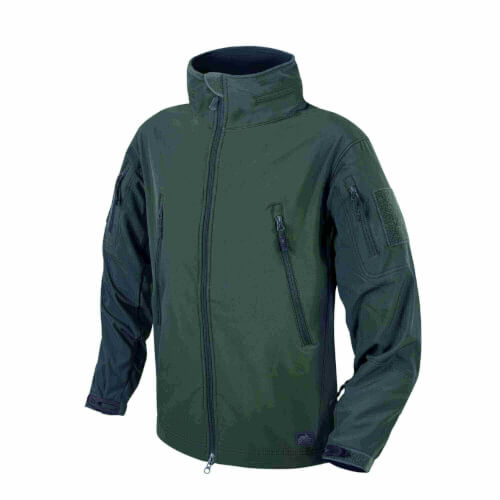 Helikon-Tex Gunfighter Jacke - Shark Skin Windblocker jungle green