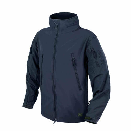 Helikon-Tex Gunfighter Jacke - Shark Skin Windblocker navy blue