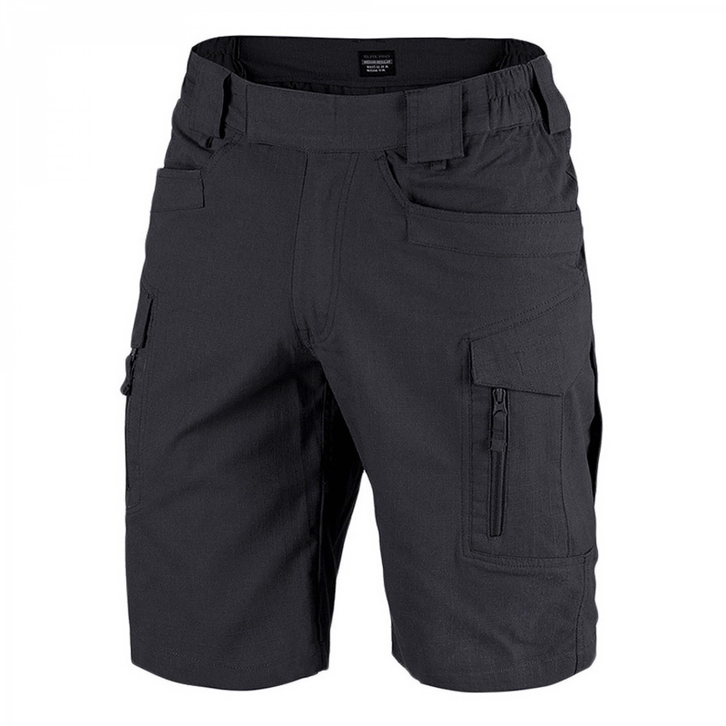Texar Elite Pro shorts rip-stop black
