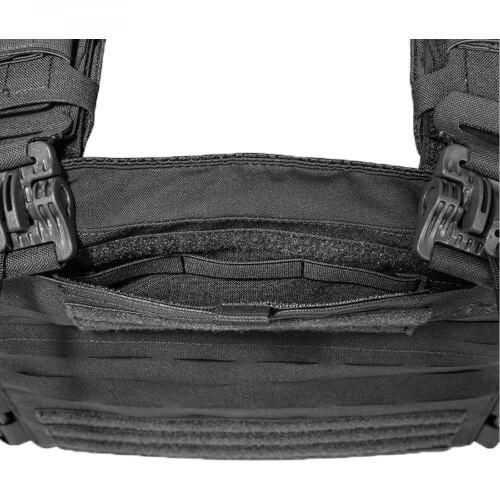 Tasmanian Tiger Plate Carrier QR LC black