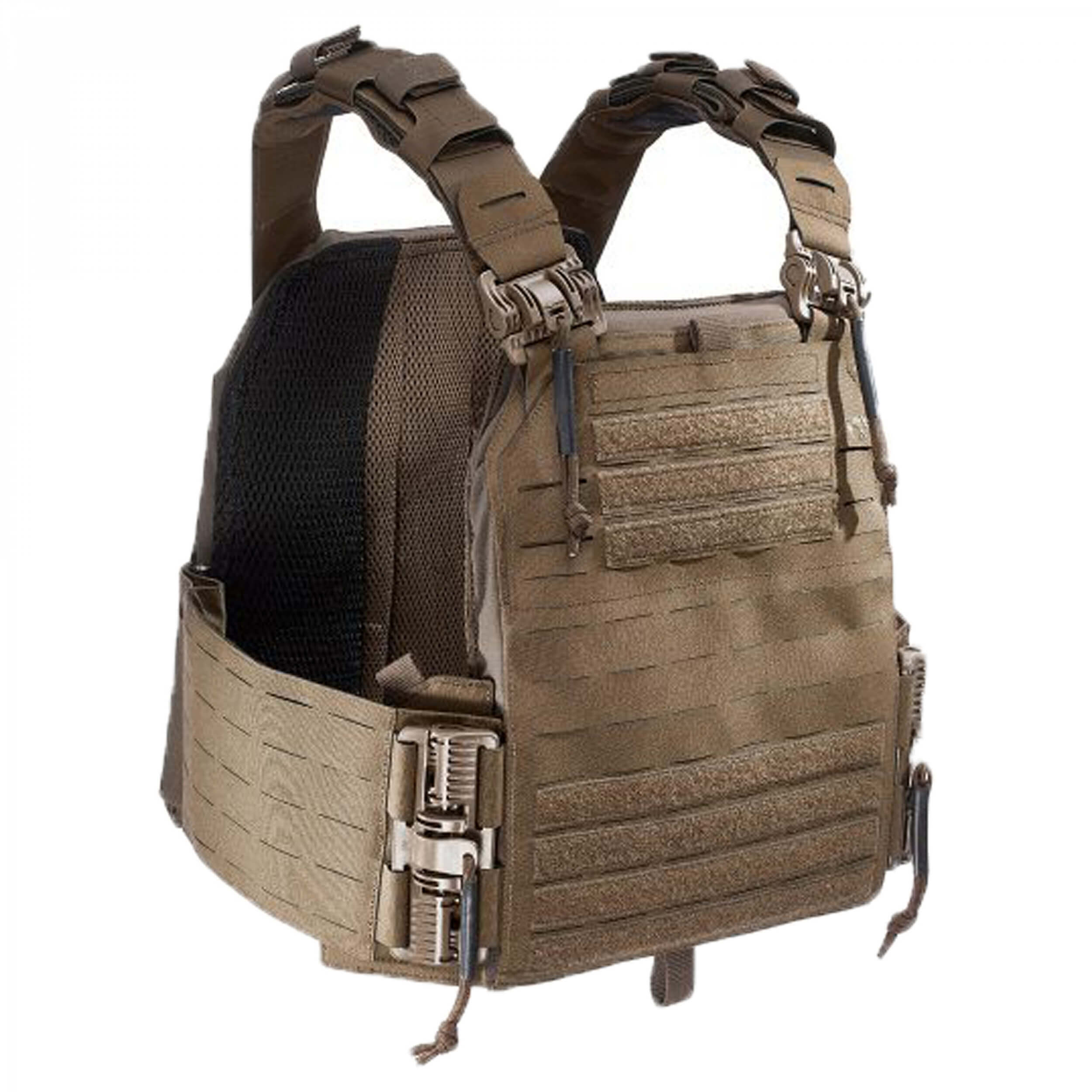 Tasmanian Tiger Plate Carrier QR LC coyote brown
