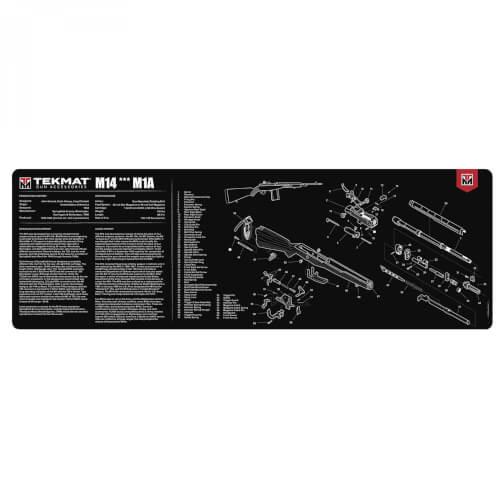 TEKMAT M14/M1A Waffenreinigungsmatte 12x36 Zoll