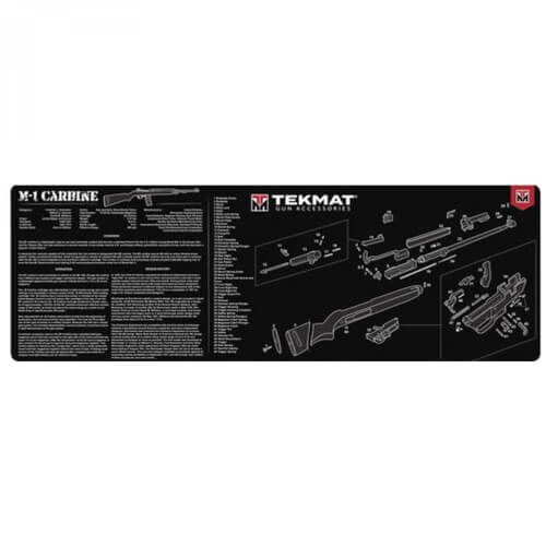 TEKMAT M-1 Carbine Waffenreinigungsmatte 12x36 Zoll