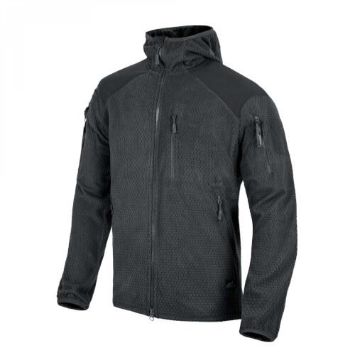 Helikon-Tex ALPHA HOODIE Jacket - Grid Fleece black