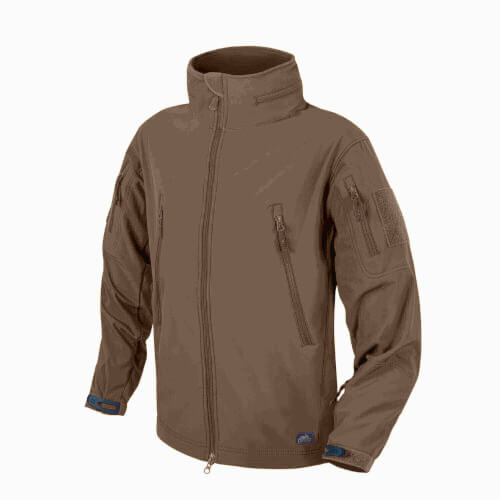 Helikon-Tex Gunfighter Jacke - Shark Skin Windblocker mud brown