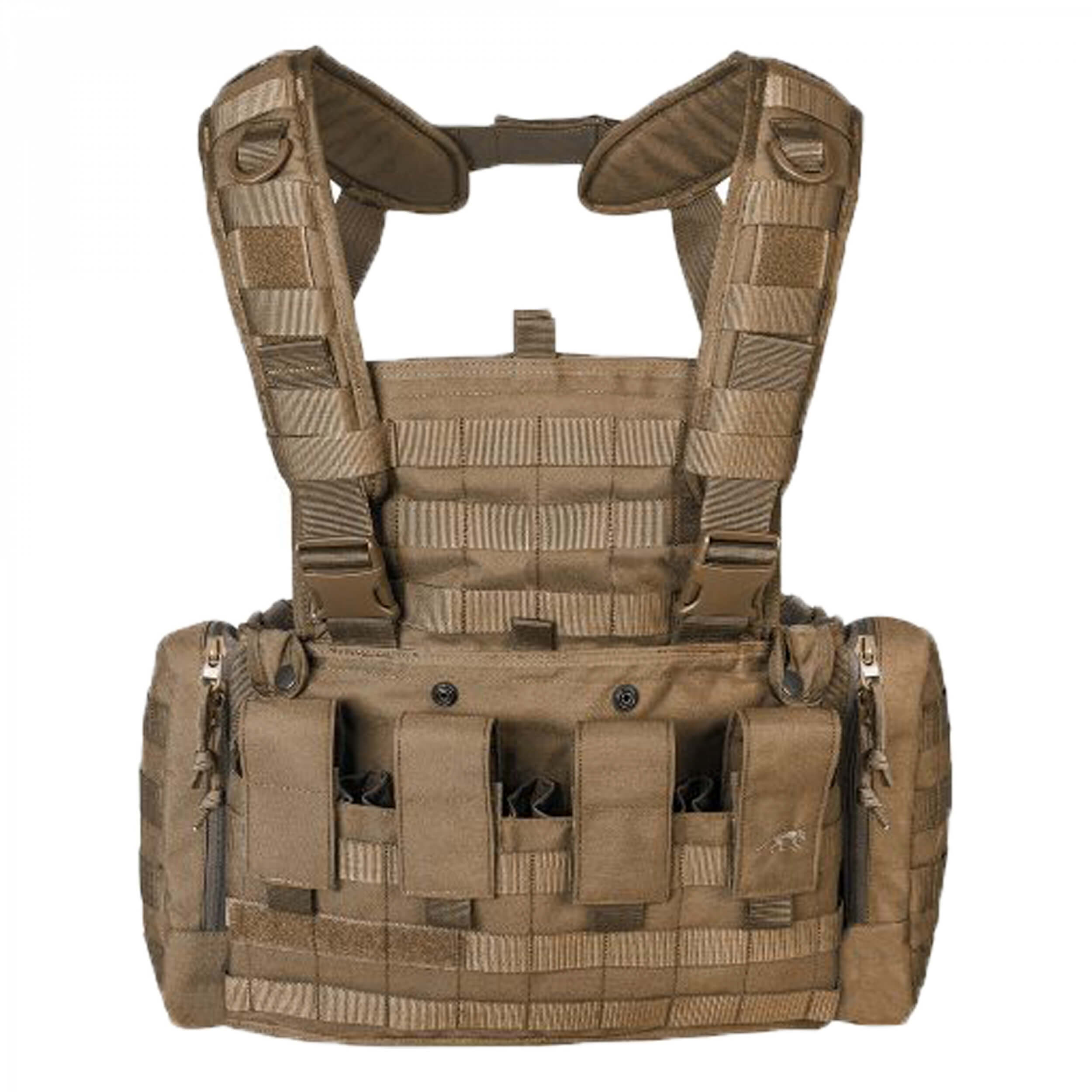 Tasmanian Tiger CHEST RIG MK II coyote brown