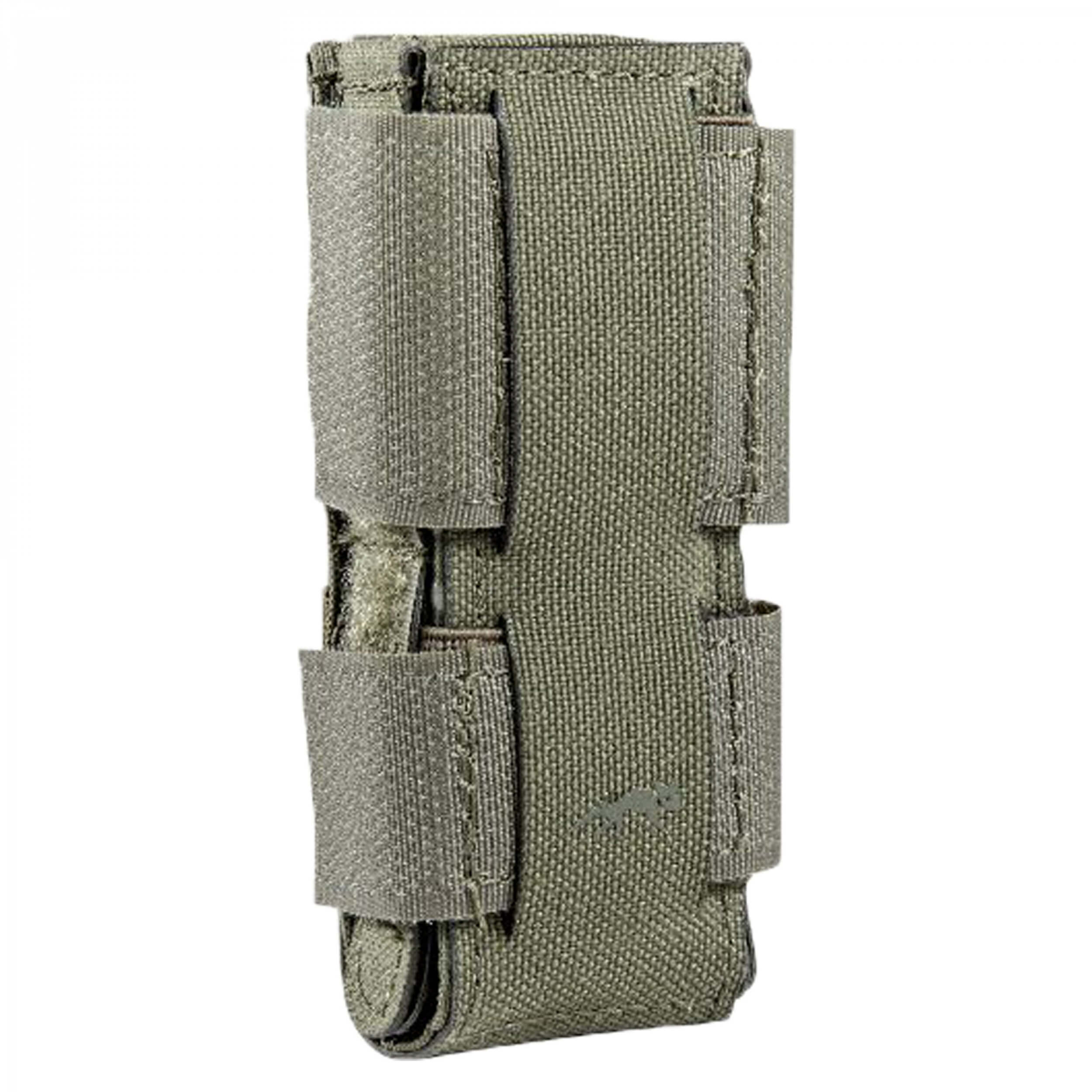 Tasmanian Tiger SGL PI Mag Pouch MCL olive