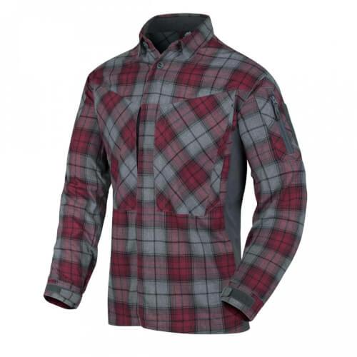 Helikon-Tex MBDU Flannel Shirt - Ruby Plaid