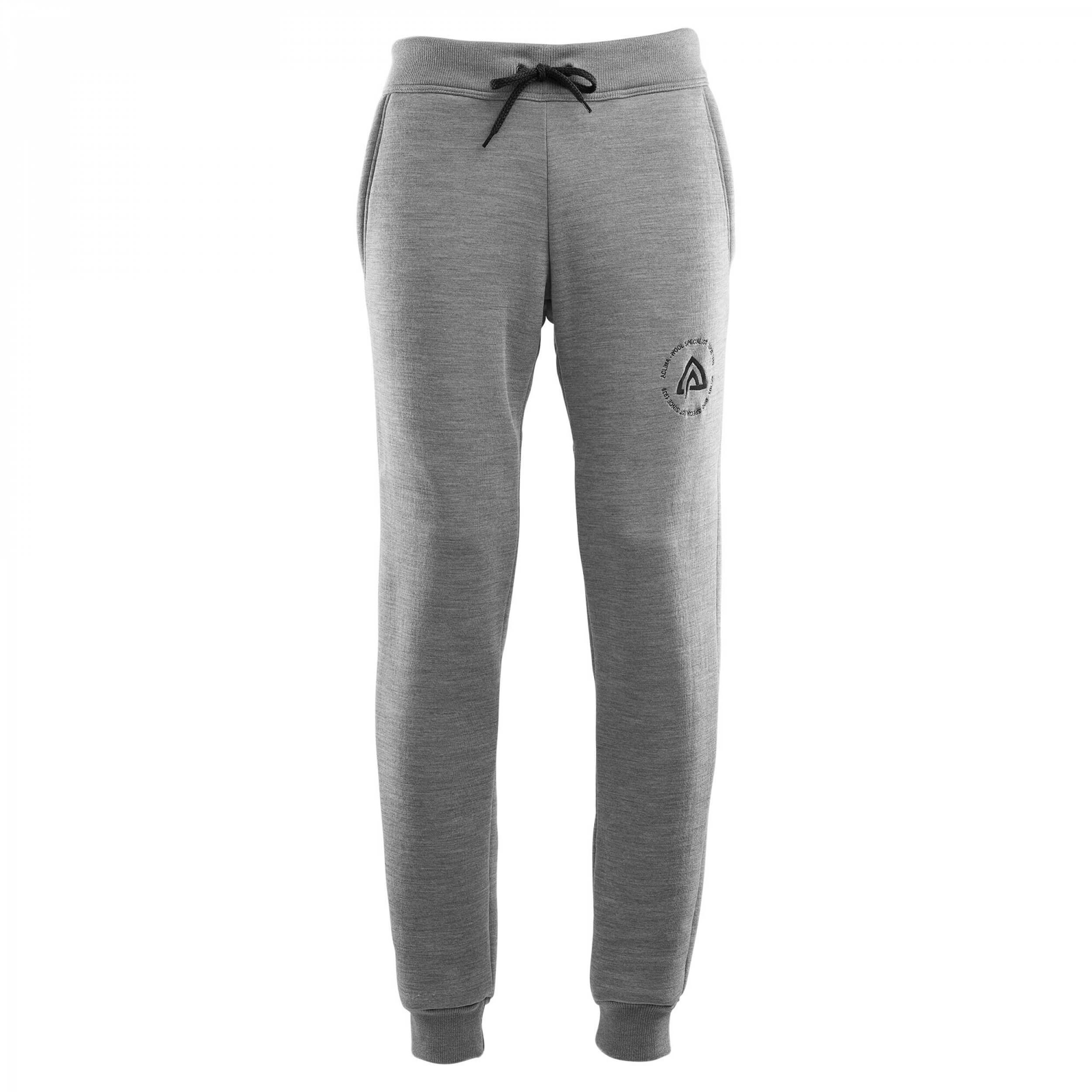 Aclima Fleecewool Joggers Men Grey Mélange