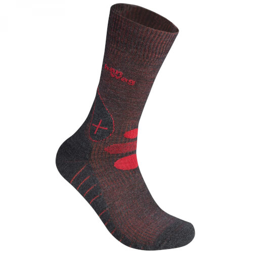 Hanwag Trek Eco Socke anthrazit/rubin