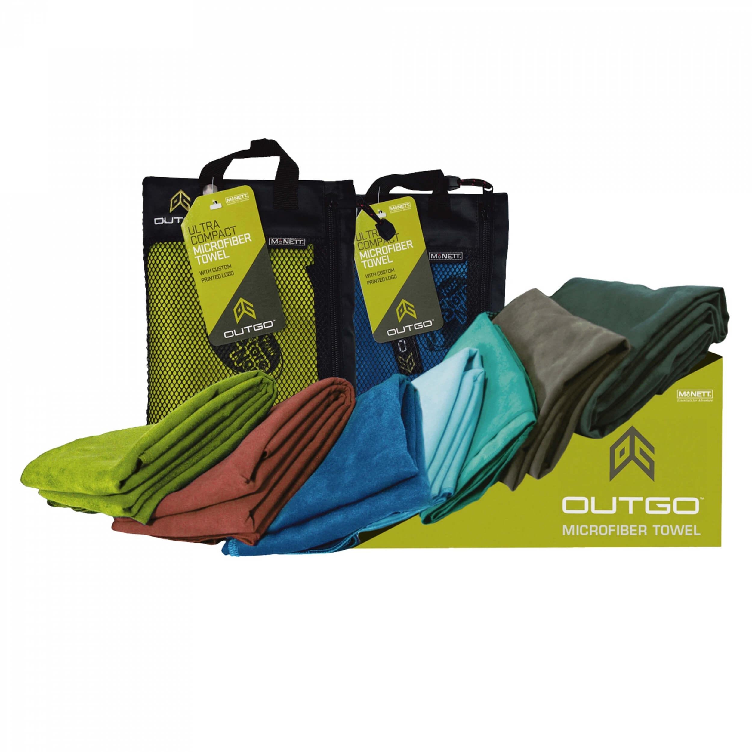 McNett Outgo Microfiber Towel kobaltblau XL
