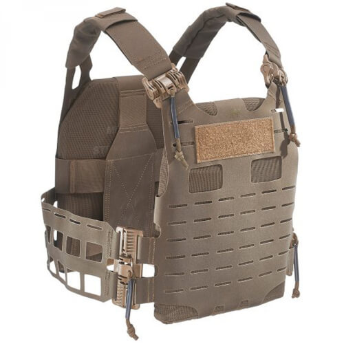 Tasmanian Tiger Plate Carrier QR SK Anfibia coyote brown
