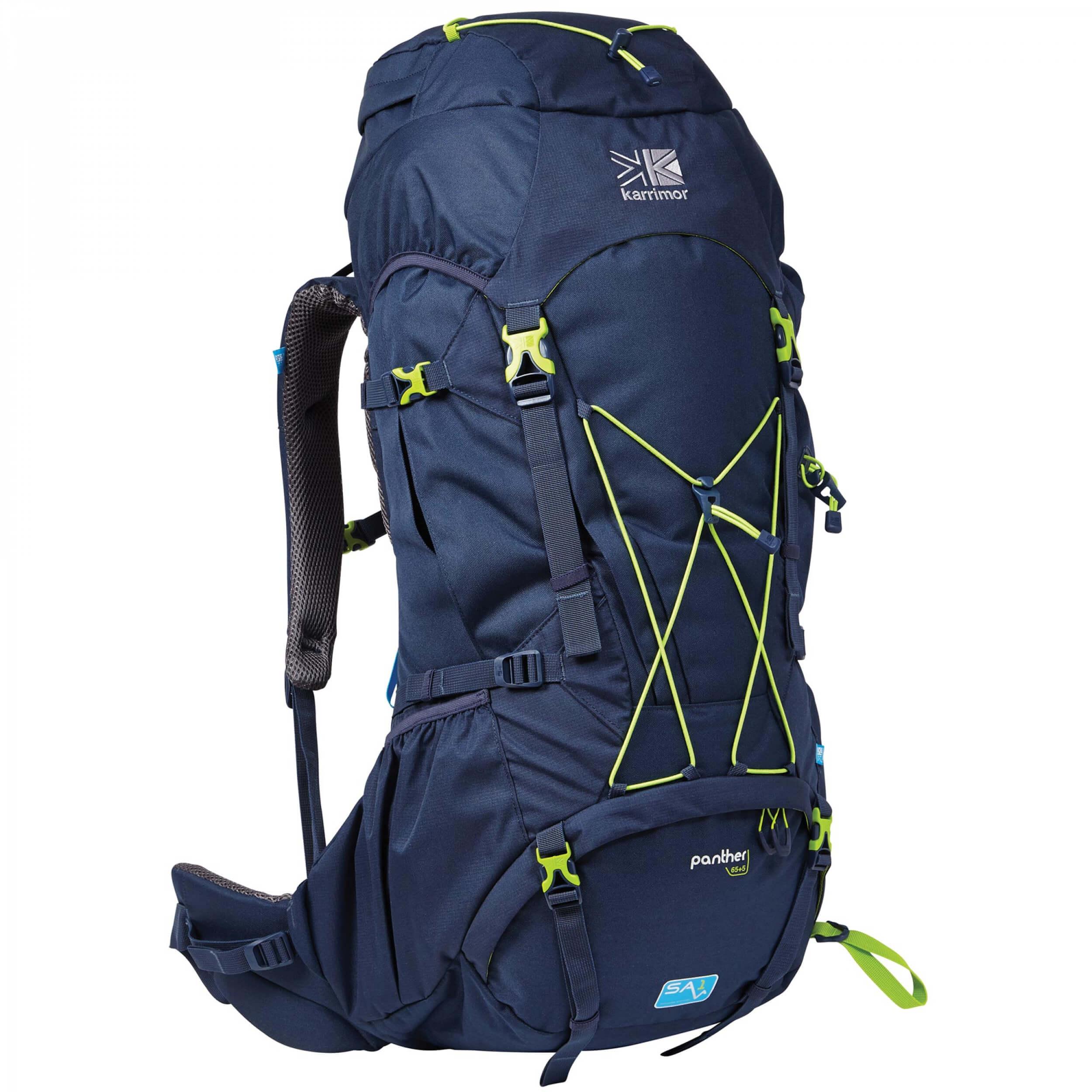 Karrimor Panther 65 + 10 L Rucksack blau