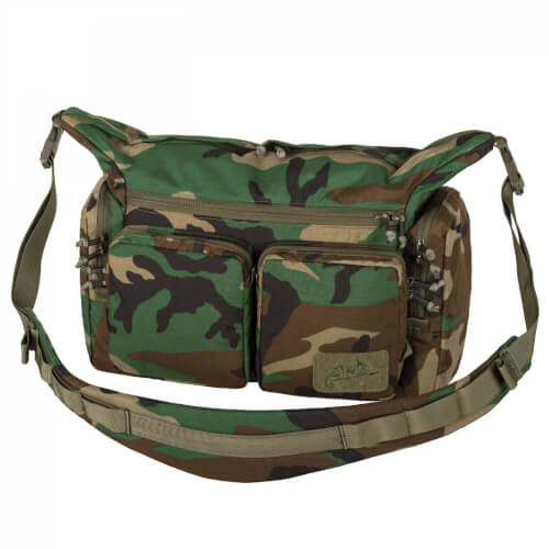 Helikon-Tex WOMBAT Mk2 Shoulder Bag - Cordura US Woodland