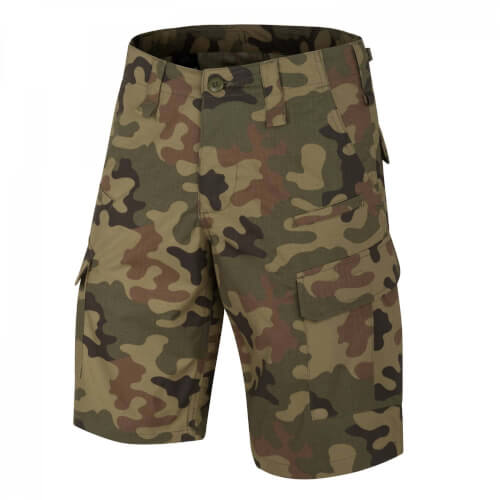 Helikon-Tex CPU Shorts - PolyCotton Ripstop PL Woodland